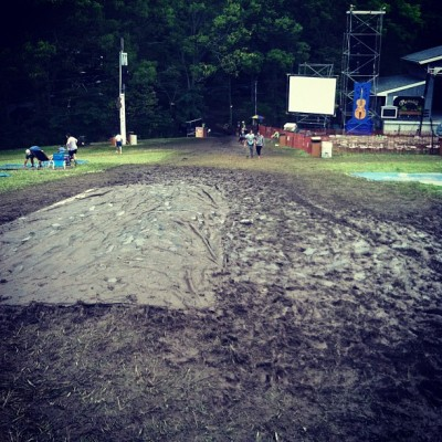 Ultimate Folk Fest mudslide (Taken with Instagram)