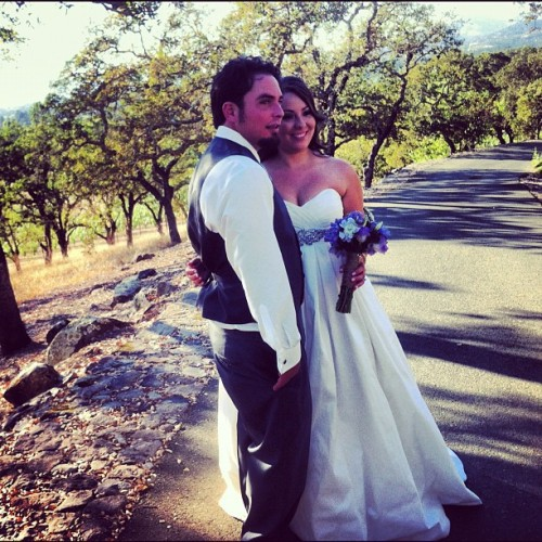 The happy couple: Dana & Crystal Newton! #latergram (Taken with Instagram)