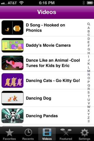 Gube. iPhone & iPad. $3.99. Are you a parent and do you cringe whenever your kid points your iPhone at YouTube? I do. Now you have an ally in the battle against video dreck - Gube. Gube provides a catalog of pre-screened, moderated, and safe yet fun YouTube videos. Paired with the BubCap (www.bubcap.com) home button cover, it turns your iPhone or iPad into a great learning and entertainment device. Videos are categorized by age group, and are completely searchable. Safely allow your child to browse on their own through age-appropriate videos, protected from unsuitable content. Gube videos are chosen by parents, by hand. Gube includes videos for: infants; toddlers; preschool; and, grade school children. A little pricey at $3.99, but what price safety?