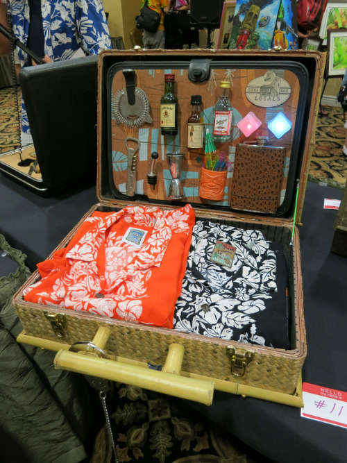 laughingsquid:  Photos: Tiki Oasis 3rd Annual Art Show & Spy Briefcase Contest