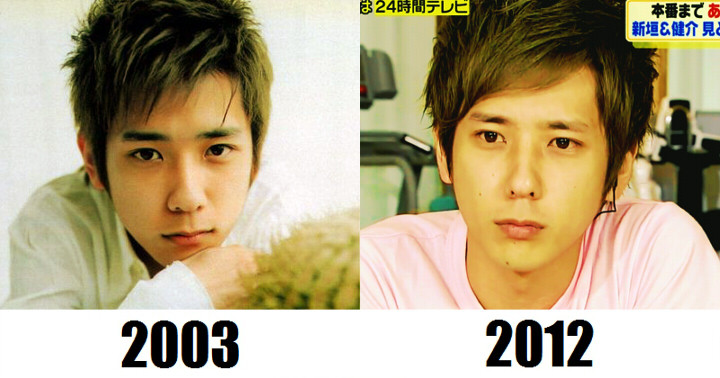 ylunio:  Ahahah Oh Nino XD Well.. I can see small differences, but yes.. he doesn't look 9 years older..