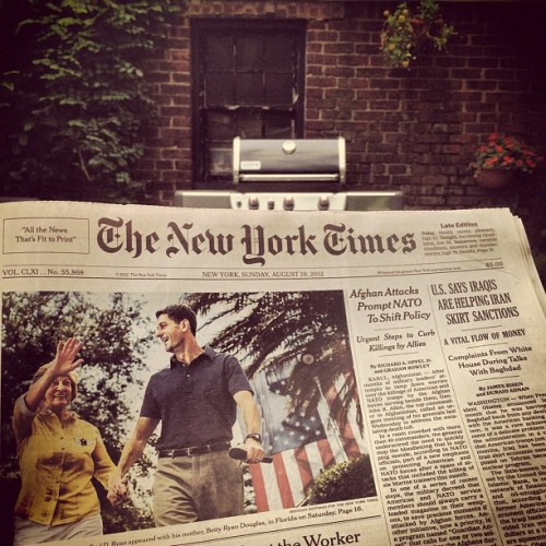 #nytimes (Taken with Instagram)