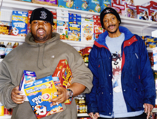 Raekwon snack game. Photo by Kenneth Cappello