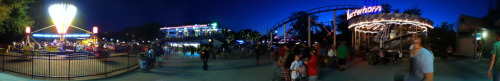 here's a pano i did last night at nerdfighter cedar point trip while waiting for people to come out of the bathroom
