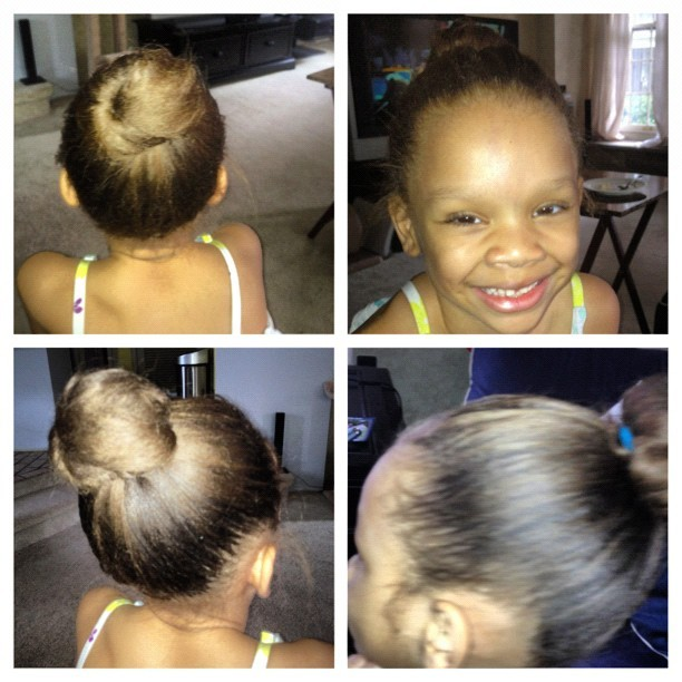 #picstitch Obsessed with my daughter's top knot! #thefashionadvocate #instafashion #instakids #bun #hairdo #instahair #instagood #instablonde #blondehairdontcare #topknot (Taken with Instagram)