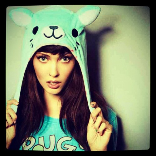 Neko hat get it at www.iheartdropdead.com #kawaii #drop dead #amanda Hendrick (Taken with Instagram)