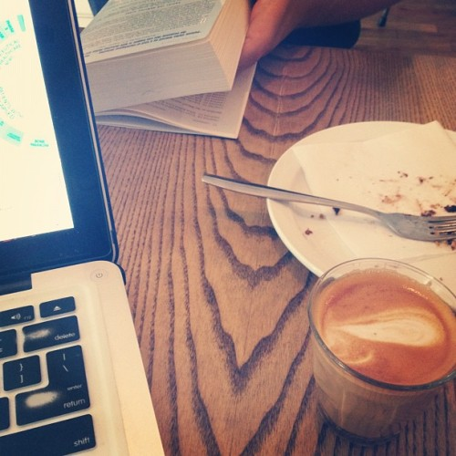 Sundays with @stayerst (Taken with Instagram at Pikolo Espresso Bar)
