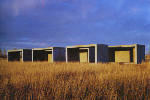 We want to make a long summer road trip through Texas to Marfa, the desert home of 1970s minimal sculpture…
