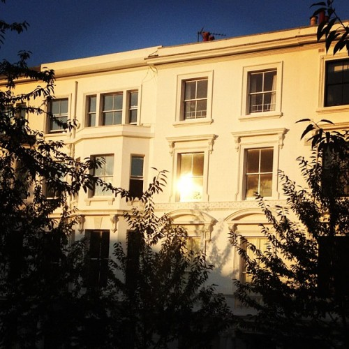 View from our window in Kensington (Taken with Instagram)