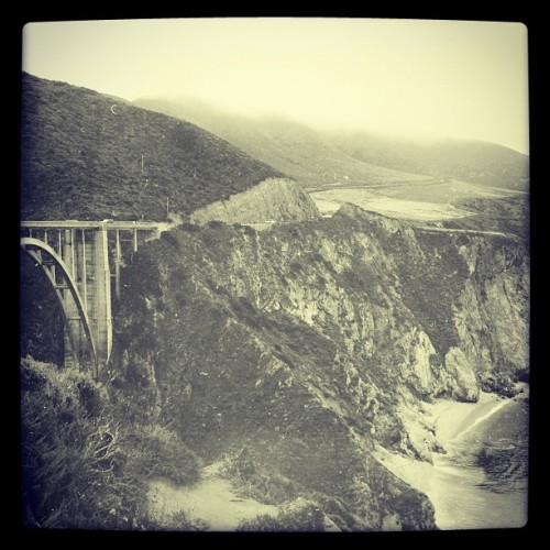 More from #BigSur (Taken with Instagram at Bixby Canyon Bridge)