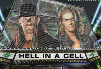 7. The Undertaker vs. Edge: SummerSlam 2008    The Undertaker defeated Edge atWrestleMania 24, but their feud raged on past that point. Edge was able to defeat theDeadman at One Night Stand with the stipulation being that if he did, Undertaker would have to leave the WWE. But because Edge had dipped into an affair with Alicia Fox, his storyline girlfriend/fiance/wife, Vickie Guerrero, would reinstate Taker, signing him to a Hell in a Cell match with Edge at SummerSlam. These two men capped their feud with one of the best Hell in a Cell matches in WWEhistory. The Undertaker used the Tombstone piledriver to win the match, but he alsochokeslammed Edge from the top of a ladder after the match, sending Edge went through the ring, creating an unforgettable SummerSlam image.