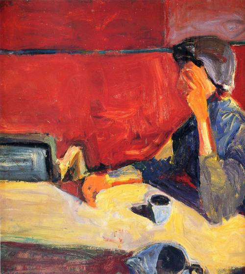 wishflowers:  alongtimealone:  diebenkorn  Pardon the Diebenkorn spam. I'm just a big fan.