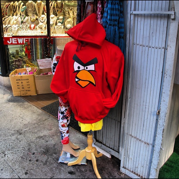 Angry bird #latergram  (Taken with Instagram)