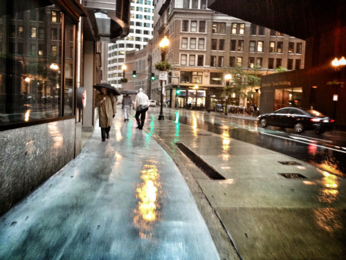 bostonianresolution:  You say that you love rain, but you open your umbrella when it rains.You say that you love the sun, but you find a shadow spot when the sun shines.You say that you love the wind, but you close your windows when wind blows.This is why I am afraid, you say that you love me too.