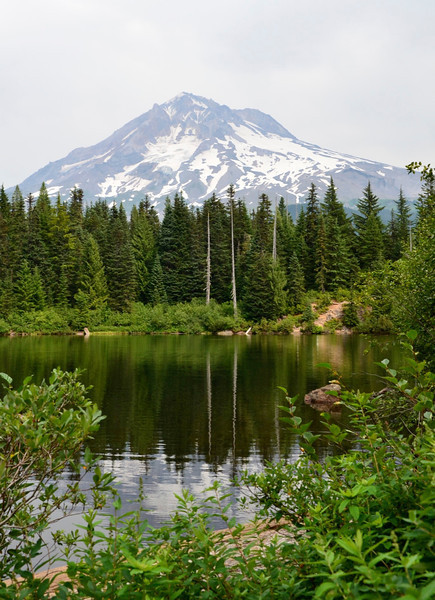 Burnt Lake, Mount Hood, OregonTwo
