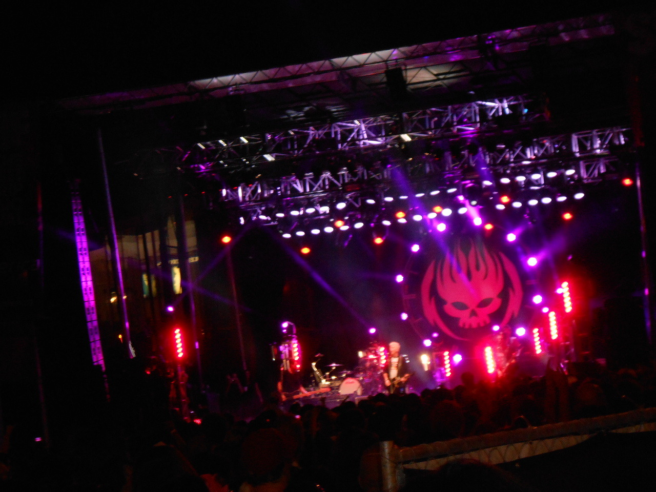 The Offspring and Many of Odd Nature live at SSMF…August 18th, 2012