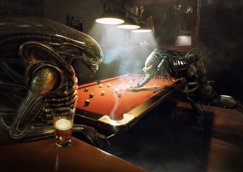 Alien vs. Predator (via Coolvibe)