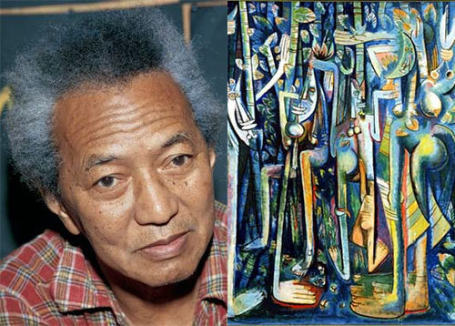 Wifredo Lam    (Chinese, Congolese, Spanish) [Cuban]    Known as:  Famous painter, draughtsman and sculptor (Contemporary of Picasso, Matisse & Kahlo)    Works:  The Jungle, Mother and Child, Satan, Moths and Candles    More Information: WifredoLam.net (French), Guggenheim: Wifredo Lam, Museum of Modern Art: Wifredo Lam, Matta Gallery: Wifredo Lam, Wifredo Lam's Wikipedia page    Thanks to cuckoo4socks for suggesting today's Daily Multiracial!    Please feel free to suggest someone as a future Daily Multiracial!  Follow us: Twitter - Google+     DailyMulti Archives: By Date - By Name