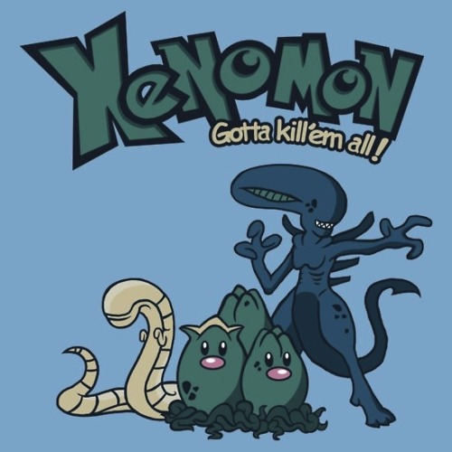 suicidegeeks:  Xenomon : Gotta kill'em all !
