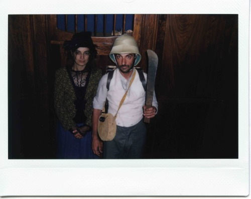 "Polaroid from the shooting of ""Tabu"" #6 directed by Miguel Gomes"