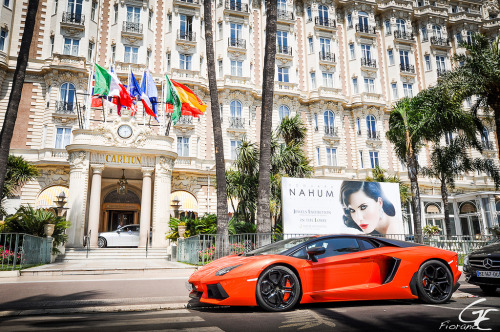 You're arrived Starring: Lamborghini Aventador (by Fiorano 2a | Guillaume E.)
