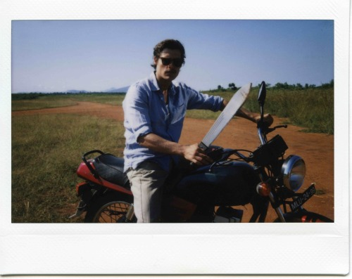 "Polaroid from the shooting of ""Tabu"" #9 directed by Miguel Gomes"