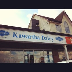 Best ice cream ever!  (Taken with Instagram at Kawartha Dairy)