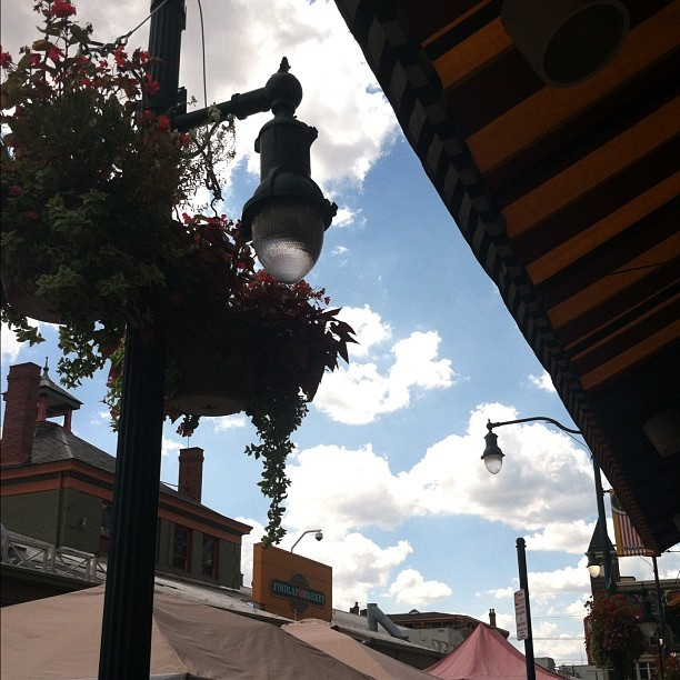 Such a beautiful day at Findlay Market. #thisisotr  (Taken with Instagram)