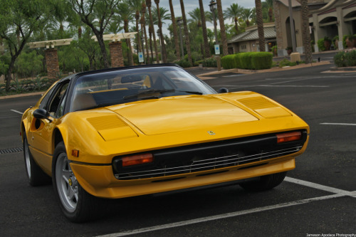 carpr0n:  Power player Starring: Ferrari 308 (by Jameson Apodaca Photography)