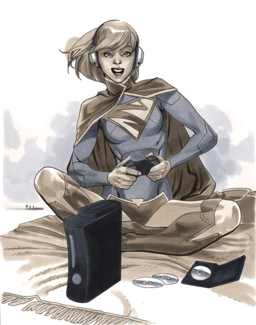 Supergirl II - Wizard World Chicago 2012 Pre-Show Commission