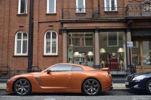 Bronze medal Starring: Nissan GT-R (by ZaidHamid-EverythingUnedited.)