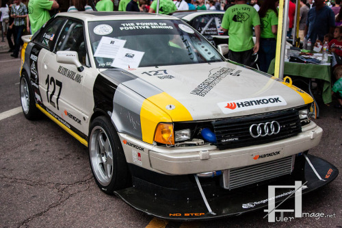 Make some sacrifices Starring: '91 Audi Quattro Coupe (by FullerImage.net)