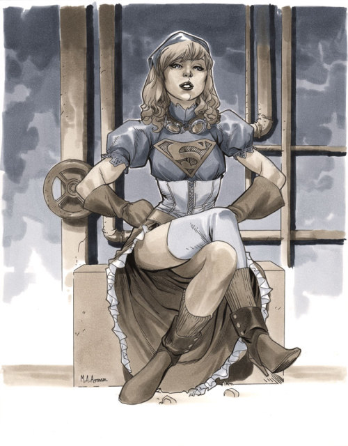 mahmudasrar:  Steampunk Supergirl - Wizard World Chicago 2012 Pre-Show Commission