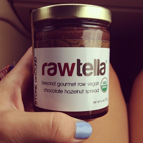 Finally, a vegan knock off of the ever so famous Nutella! It's rich in antioxidants, raw and organic, and it's delish! Seriously pick this one up on your next grocery run, ladies :)