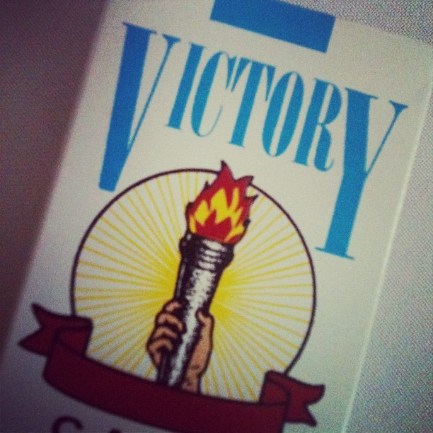 Victory Cigarettes #1984 (Taken with Instagram)