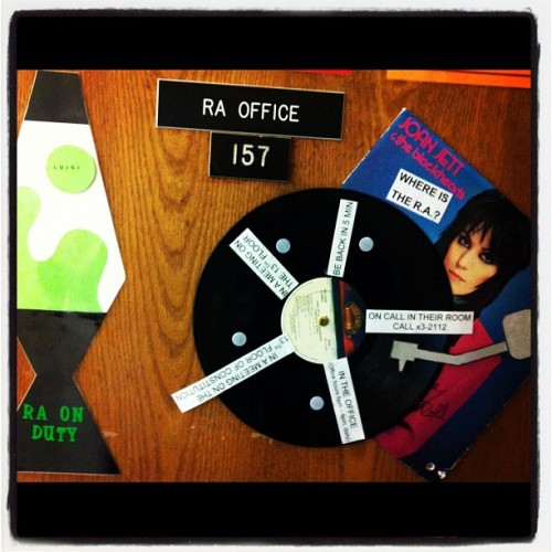 Signs for my #RA Office! :) #crafty  (Taken with Instagram)