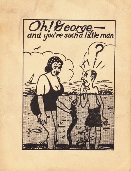 (via martin klasch: Oh! George) Vintage Sleaze: George Goes Swimming