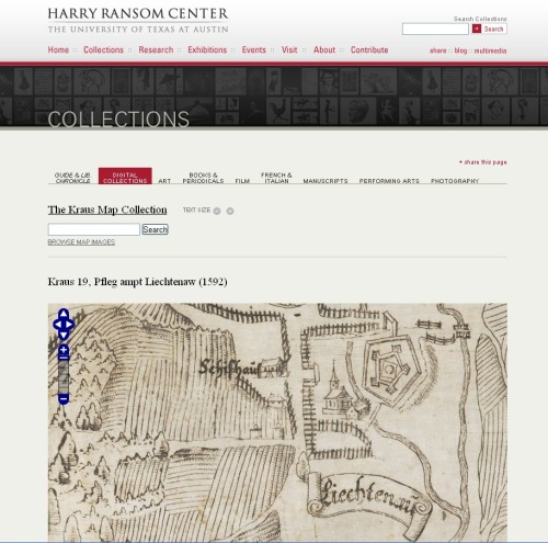 Kraus Map Collection http://norman.hrc.utexas.edu/krausmaps/