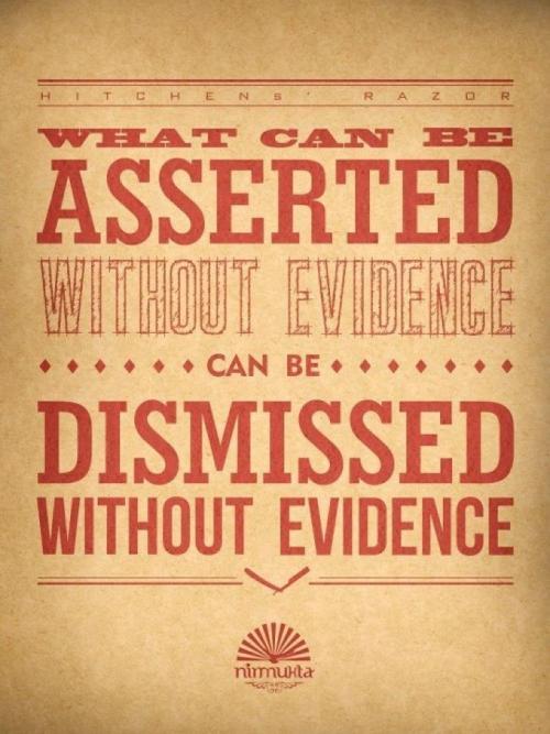 atheist-overdose:  Hitchens' razorfollow for the best atheist posts on tumblr