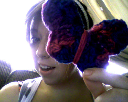 DIY BUTTERFLY - Crochet : I think i did pretty good ;)