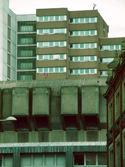 architectureofdoom:  This is England '12. Nottingham, August 2012.