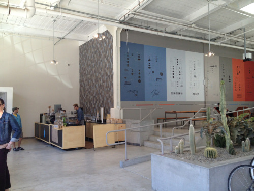 New Heath Ceramics on 18th: Blue Bottle café
