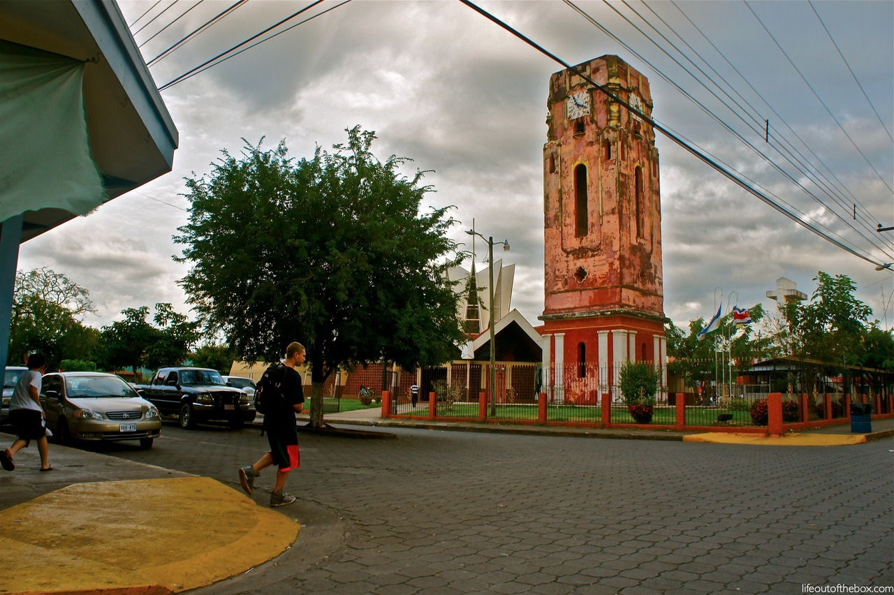 Santa Cruz, Costa Rica. Love this old clock tower.