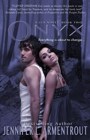 Onyx by Jennifer L. Armentrout  Date published: 14th August 2012  Publisher: Entangled Teen  Format: Paperback, 366 pages  Series:Lux… View Postshared via WordPress.com