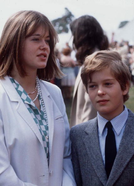 royalkents:  Lady Helen and Lord Nicholas Windsor  Children of the Duke and Duchess Of Kent