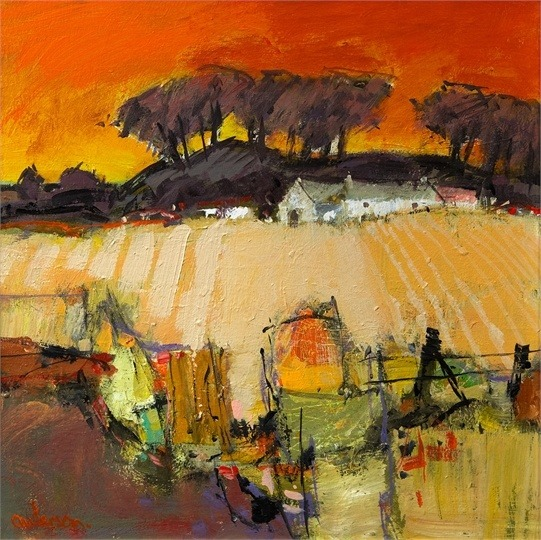 West Lothian Farm Steading, Charles Anderson
