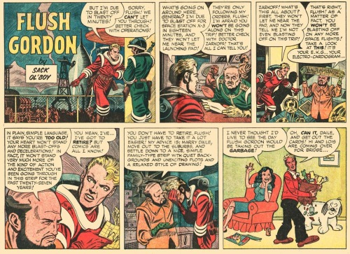 Flush Gordon by Joe Orlando(via Fumettologicamente)