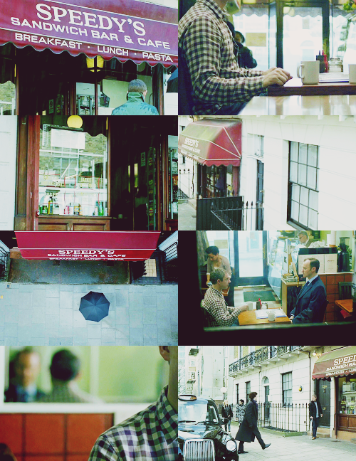 3/10 Favourite Locations in BBC's Sherlock: Speedy's Sandwich Bar & Cafe