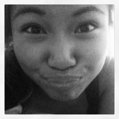Day 19 - Duck Face! Not kissy hehehe :3 🐤 #myaugust  (Taken with Instagram)