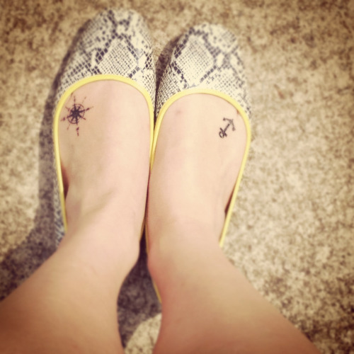 alliileigh:Better picture of my tattoo now that the swelling has gone down a lot!